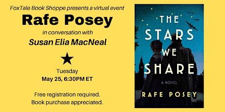 Rafe Posey in conversation with Susan Elia MacNeal Virtual tickets