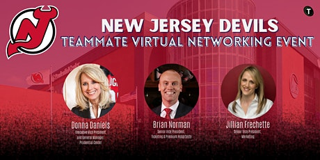 New Jersey Devils Teammate Virtual Networking and Career Panel billets