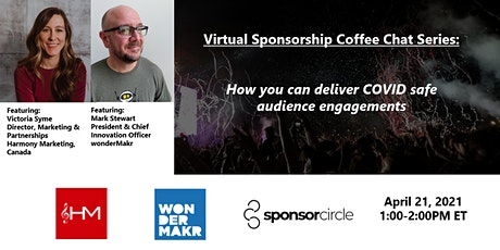 Virtual Coffee Chat - How you can deliver COVID safe audience engagements tickets