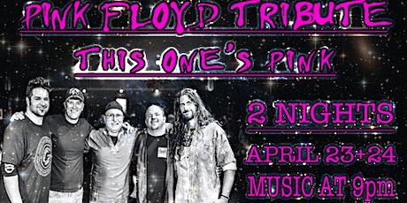 PINK FLOYD TRIBUTE WEEKEND tickets