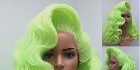 GLAMOUR DRAG WIG SETTING & DRESSING TWO PART TUTORIAL 27 & 29 APRIL tickets