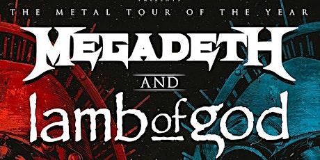 Megadeth w/ Lamb of God - Camping 1 Night tickets