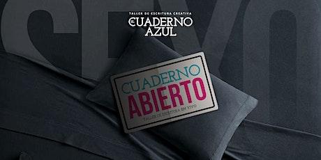 Cuaderno Abierto: SEXO  taller intensivo con Juan Sklar entradas