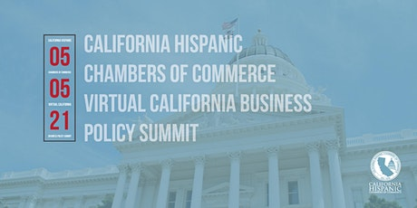 CHCC Virtual California Business Policy Summit tickets