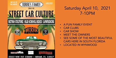 Street Car Culture @ Super Car Rooms Miami tickets
