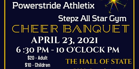 Stepz All Star Gym Annual Cheer Banquet tickets