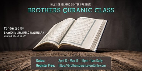 Brothers Quranic Classes tickets