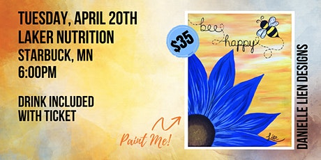 LAKER NUTRITION | BEE HAPPY PAINT NIGHT tickets