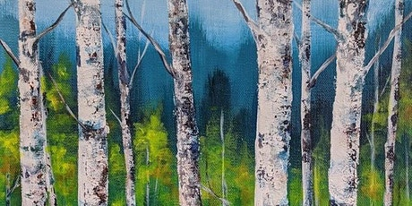 Acrylic Painting - Birch Trees with Kelly Maw - Evening tickets