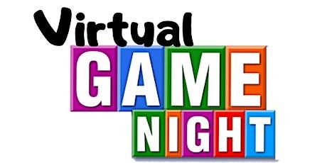 Virtual Games Night (Gr. 1-7) tickets