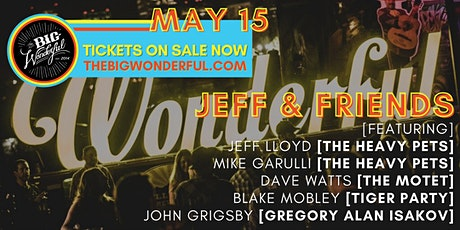 TBW Presents Jeff Lloyd & Friends ft. members of The Heavy Pets, The Motet tickets