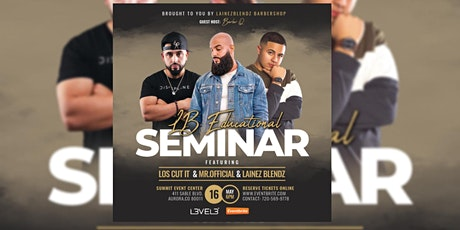 Lb Educational Barber seminar tickets