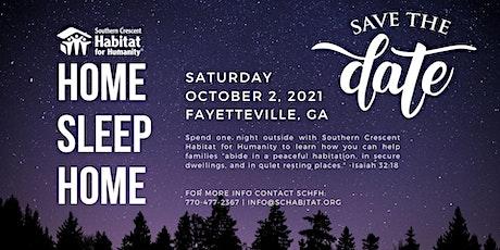 """Home Sleep Home"" The Habitat Experience tickets"