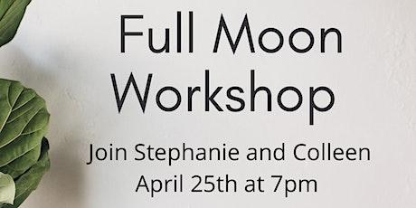 Full Moon Workshop and Restorative Yoga tickets