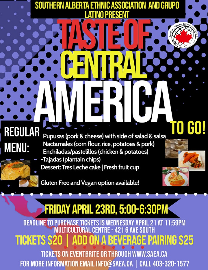 Taste of Central America image