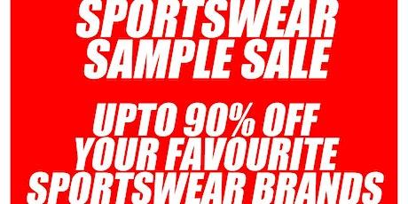 Sportswear Sample Sale tickets