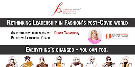 Rethinking Leadership in Fashion's post-Covid world tickets