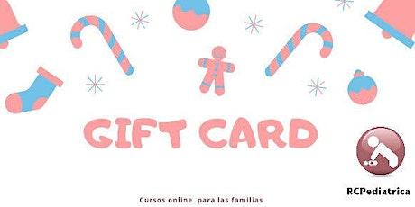GIFTCARD para regalar nuestros cursos online entradas