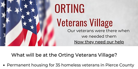Orting Veterans Village Open House tickets