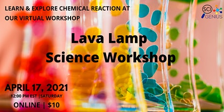 Lava Lamp Science Workshop tickets