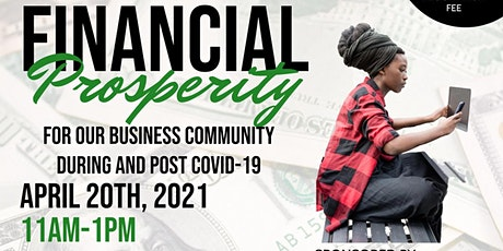Financial Prosperity during and after Covid-19 tickets