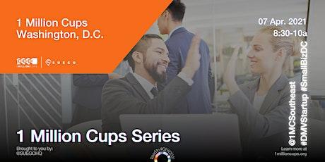 SUEGO Series: 1 Million Cups Washington DC tickets