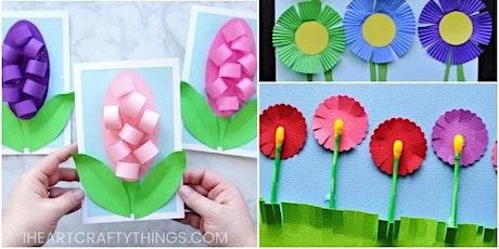 Spring flowers Workshop - Edad recomendada 4 - 10 anos entradas