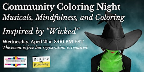 """Community """"Wicked"""" Coloring Night tickets"""