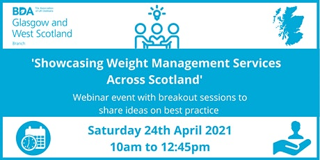 Showcasing Weight Management Services Across Scotland tickets