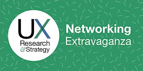 Pop Up UXRS Speed Networking Extravaganza tickets