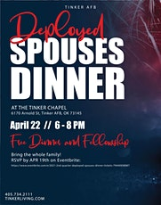 2021 2nd Quarter Deployed Spouses' Dinner tickets