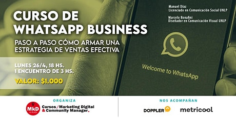 Curso de WhatsApp Business tickets