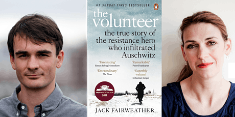 The Volunteer with author Jack Fairweather and Clare Mulley tickets