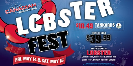 Lobster Fest 2021 (Regina Eastgate) - Saturday tickets
