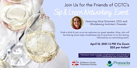 Friends of CCTC Sip & Learn Networking Event tickets