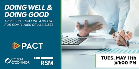 PTW21: Doing Well and Doing Good - TBL and ESG for Companies of All Sizes tickets