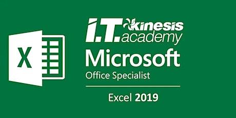 Curso y Certificación  Oficial de  Excel 2019 en vivo online entradas