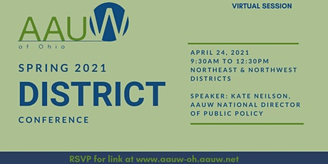 AAUW OHIO -Northwest & Northeast Districts Conference tickets