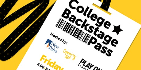 College Backstage Pass tickets