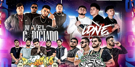 East Coast Tour Nivel Codiciado Los Primos Del Este LDNE y Designo tickets