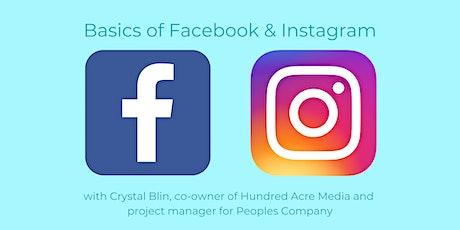 Basics of Facebook & Instagram Marketing tickets