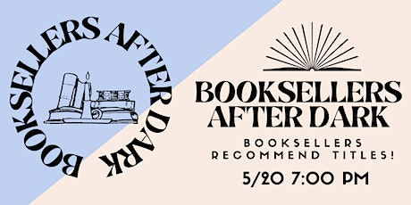 Booksellers After Dark tickets