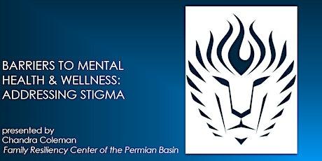 Mental Health and Resiliency Speaker Series tickets