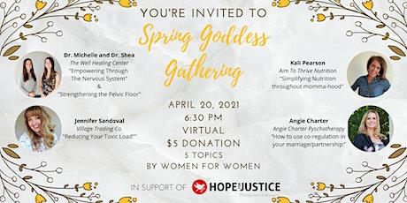 Spring Goddess Gathering [Virtual Event] tickets