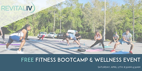 Free Outdoor Fitness Bootcamp tickets