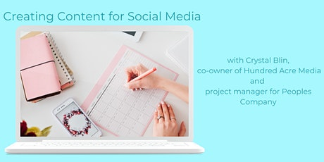 Creating Content for Social Media tickets