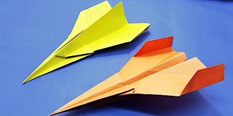 Paper planes Workshop - Edad recomendada 4 - 10 anos entradas