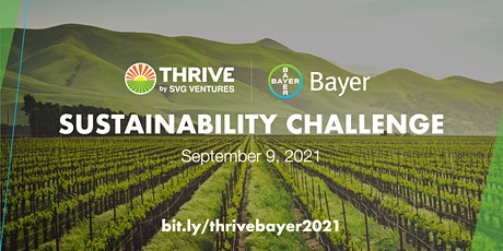 THRIVE | Bayer Sustainability Challenge biglietti