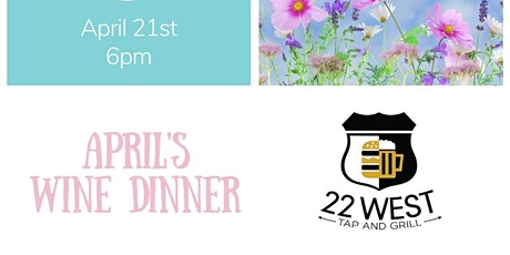 April's Wine Dinner tickets