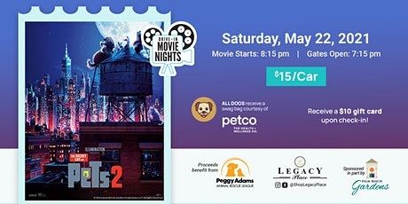 Secret Life of Pets 2 - Drive In Movie - Pets Welcome tickets